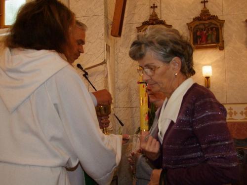 Ernő atya szentmiséje